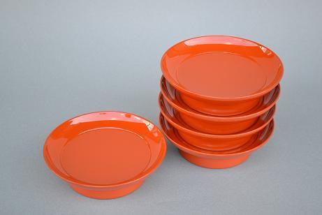 洗朱椿皿(五枚組)