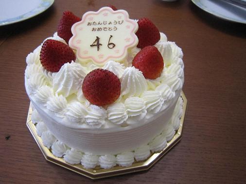 これはチイとKが来た日に3人で食べたケーキ、今日はショートケーキを買ってもらった。