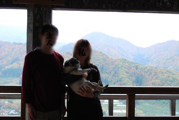 五大堂で家族写真を撮ってもらいました。