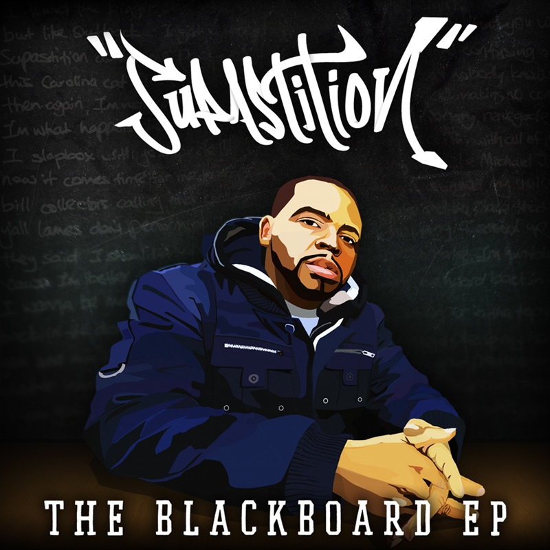Supastition - The Blackboard EP