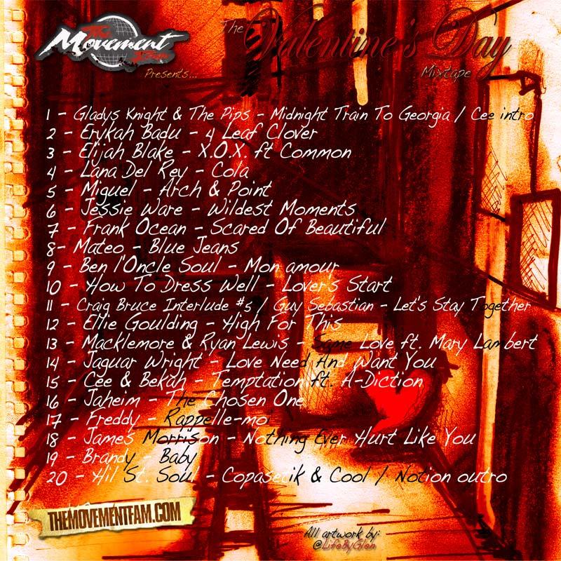 The Movement Fam Presents The Valentine's Day Mixtape Volume 5
