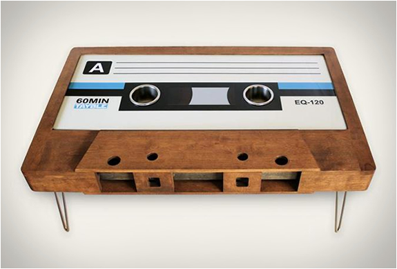 CASSETTE TAPE COFFEE TABLES5