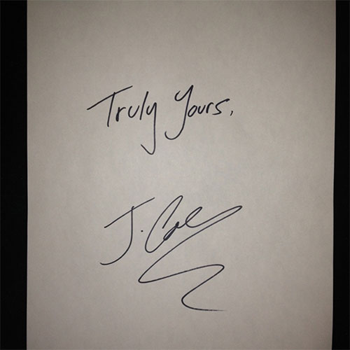 J. Cole - Truly Yours [EP]