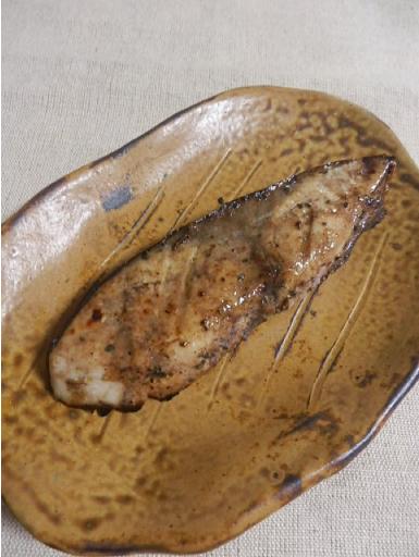 ブリのバルサミコ酢照り焼き