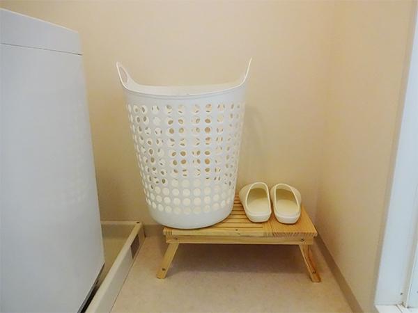 お風呂用靴の収納