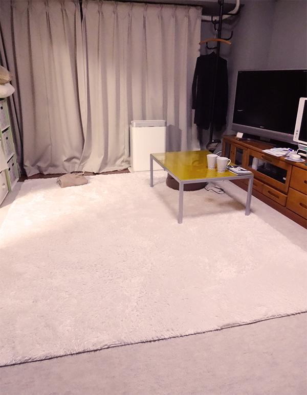 白いラグベルメゾン