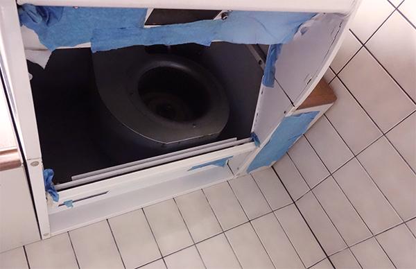 換気扇フードの掃除