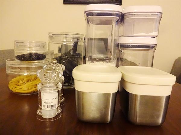 粉物・調味料詰め替え容器