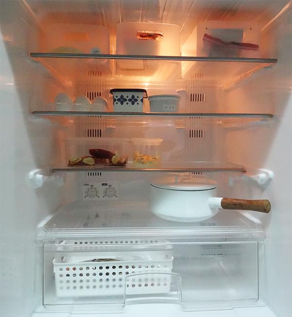 冷蔵庫の整理整頓