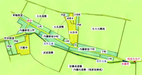 内藤新宿図