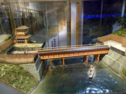 水道歴史館 水道橋の模型