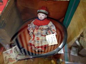 津山雛巡り 明治13年の市松人形