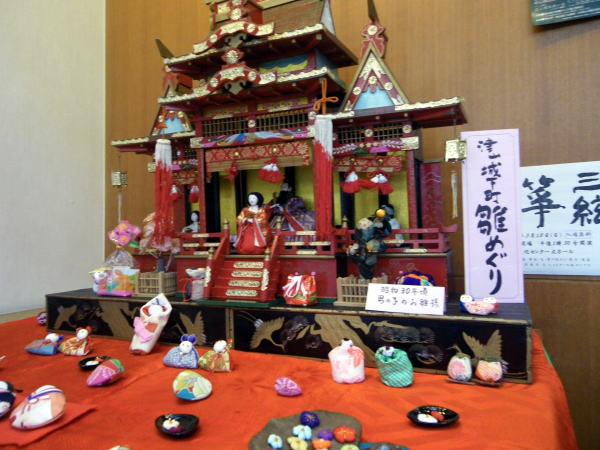 津山雛巡り 男の子のための雛飾り