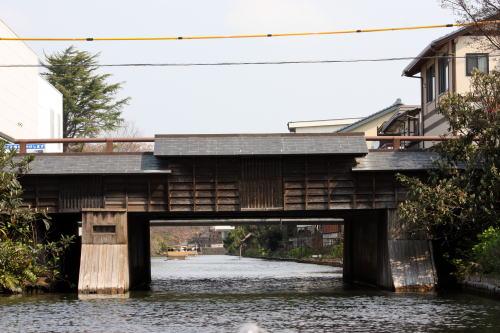 松江 堀川めぐり いろいろな橋