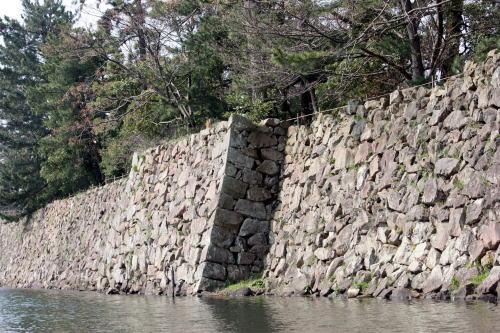 松江 堀川めぐり すばらしい石垣