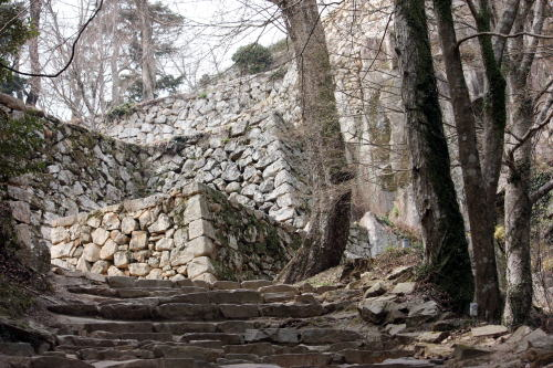 備中松山城 石垣群