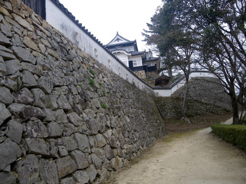 備中高松城 見事な石垣
