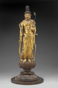 弥勒菩薩立像