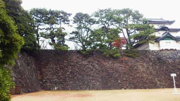 玉川上水最終地点と富士見櫓