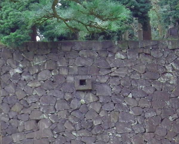 江戸城 玉川上水最終はけ口