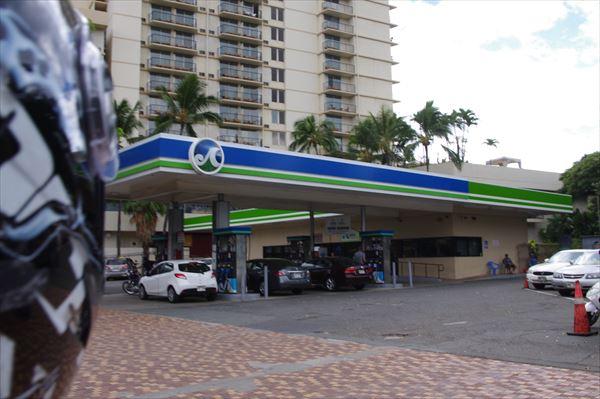 ハワイ バイク ガソリン
