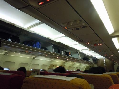 air india 機内