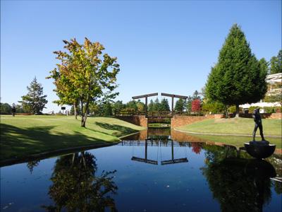蓼科湖の彫刻公園