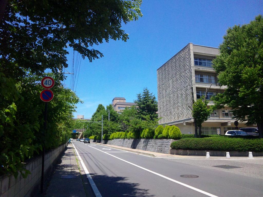 気温32℃の街頭