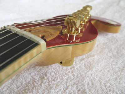 ギターネックライン