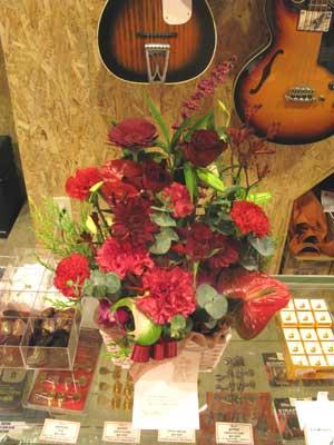 ギター展示会花