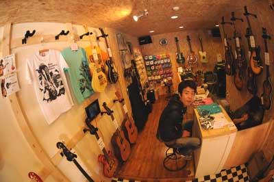 ギター展示会A