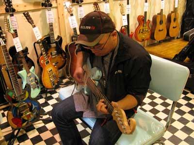 ギター試奏A