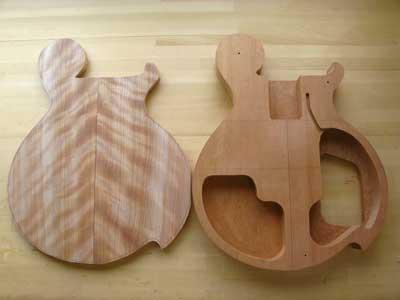 ブックマッチギター