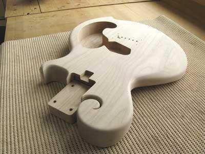 ギター加工