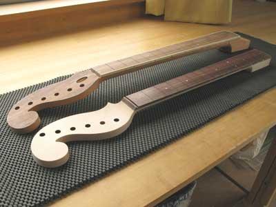ギターネック比較