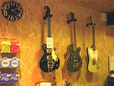 ギター在庫