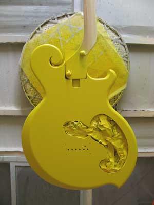 ギターラッカー塗装