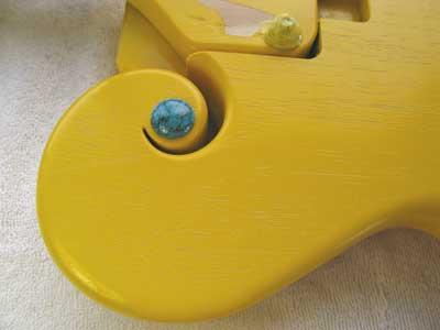 トルコ石ギター