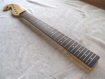 ギターフレット摺り合わせ