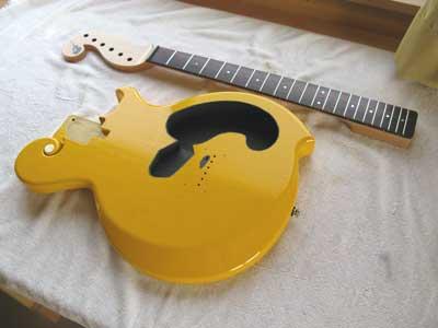 ギター作製