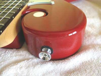 ギターストラップピン