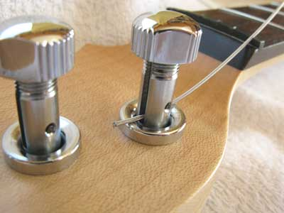 ギター弦交換