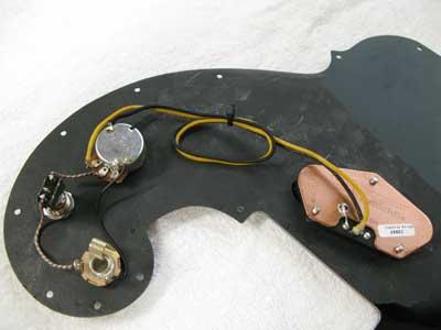 ギター配線