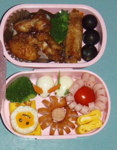 2010秋の校外遠足5年生お弁当
