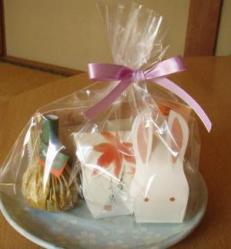 月見の和菓子