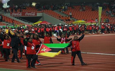 オールアフリカゲーム・モザンビーク選手団