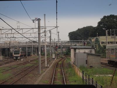 拝島駅出発