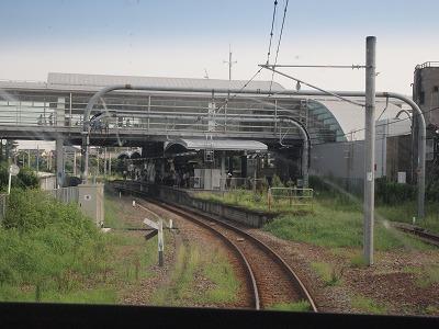 箱根ヶ崎駅到着