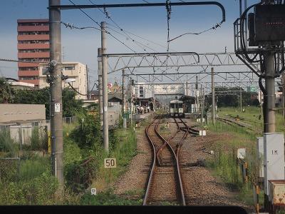 高麗川駅到着