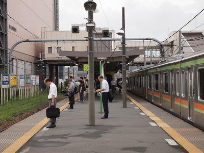 東飯能駅で5分停車